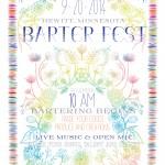 2014 Barter Fest Flyer